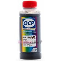 Чернила OCP BK 124 для Canon CLI-521BK, CLI-426BK, CLI-526BK Black 100 гр.