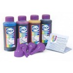 OCP BKP 45, C, M, Y 513 100гр. 4 штуки - чернила (краска) для принтеров Brother: DCP-T300, DCP-T500W, DCP-T700W