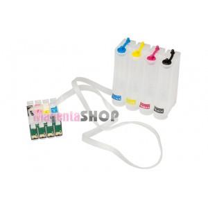 СНПЧ T40W – система непрерывной подачи чернил для Epson Stylus: T40W, TX300F, TX550W, TX600FW