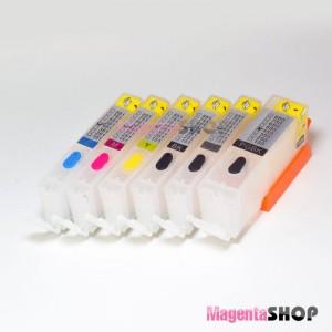 ПЗК TS8140 – перезаправляемые картриджи (с чипами) для Canon PIXMA: TS8140, TS8240, TS8340, TS9140