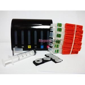 СНПЧ TS8140 – система непрерывной подачи чернил (с чипами) для Canon PIXMA: TS8140, TS8240, TS8340, TS9140