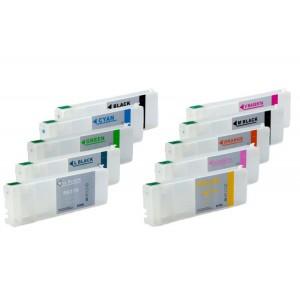ПЗК 7900 – перезаправляемые картриджи для Epson Pro: 7900, 7910, 9900, 9910