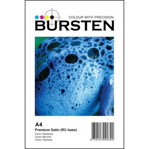 Фотобумага BURSTEN сатиновая формата A4 260 г/м2 (50 листов)