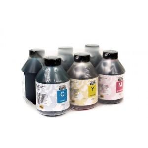 Чернила (краска) Блок Блэк для принтеров Epson InkJet Photo: L800, L1800, L805, L810, L815, L850 - 500 гр. 6 штук.
