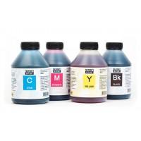 Чернила (краска) Блок Блэк для принтеров Epson: L100, L110, L120, L132, L200, L210, L222, L300, L310, L312, L350, L355, L362, L366, L456, L550, L555, L566, L655, L1300 - 500 гр. 4 штуки.