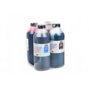 Чернила (краска) Блок Блэк для принтеров Epson: L100, L110, L120, L132, L200, L210, L222, L300, L312, L350, L355, L362, L366, L456, L550, L555, L566, L655, L1300 - 1000 гр. 4 штуки.