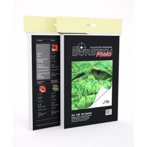 Фотобумага BURSTEN глянцевая самоклеющаяся формата A3 128 г/м2 (20 листов)