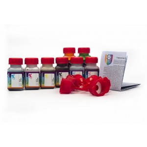 OCP BK 797, C, M, Y, G, R 122, CL, ML 125 8 штук по 25 грамм - чернила (краска) для Canon PIXMA: Pro-9000