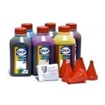 OCP BK 797, C, M, Y 122, CL, ML 125 6 шт. по 500 грамм - чернила (краска) для картриджей Canon PIXMA: CLI-8