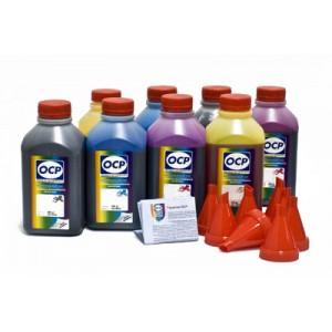 OCP BK 797, C, M, Y 122, CL, ML 125, G, R 122 8 шт. по 500 грамм - чернила (краска) для принтера Canon PIXMA: Pro-9000