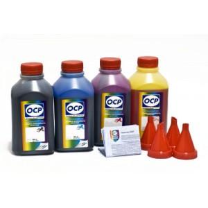OCP BKP, CP, MP, YP 230 4 шт. по 500 грамм - чернила (краска) для картриджей Canon MAXIFY: PGI-1400, PGI-2400