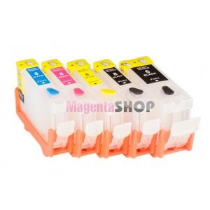 ПЗК iP4200 – перезаправляемые картриджи (без чипов) для Canon PIXMA: iP4200, iP4300, iP4500, iP3300, iP3500, iP5200, iX5000, iX4000, MP500, MP510, MP530, MP600, MP800, MP810, MP830, MX850