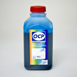 Чернила OCP C 51 для Canon BCI-11C, BCI-21C, JI-20C, BC-21E Cyan 500 гр.