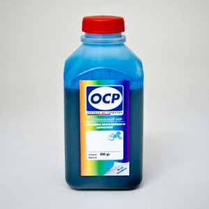 Чернила OCP CP 230 для Canon PGI-1400C, PGI-2400C Cyan Pigment 500 гр.