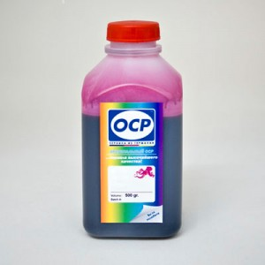 Чернила OCP MP 230 для Canon PGI-1400M, PGI-2400M Magenta Pigment 500 гр.