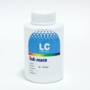 Чернила Ink-mate HIM-311LC Cyan Light (Светло-Голубой) 70 гр. для картриджей HP: 177