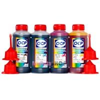OCP BKP 44, С, M, Y 712 100гр. 4 штуки - чернила (краска) для принтеров Canon PIXMA: MP230, MP250, MP280, iP2700, iP2702, MP495, MP240, MP252, MP260, MP270, MP272, MP282, MP490, MP492, MP499, MX320, MX330, MX340, MX350, MX360, MX410, MX420