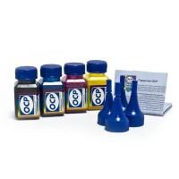 OCP BKP 115, C, M, Y 140 (повышенной светостойкости) 4 штуки по 25 грамм - чернила (краска) для принтеров Epson Expression Home