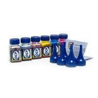 OCP BKP 115, BK 140, C, M, Y 140 (повышенной светостойкости) 5 штук по 25 грамм - чернила (краска) для принтеров Epson Expression Premium
