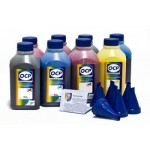 OCP BKP 114, BKP, CP 115, MP 117, CPL, MPL 118, BKP 201, YP 102 8 шт. по 500 грамм - чернила (краска) для принтеров Epson Stylus Photo: R2100, R2200