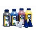 OCP BKP 115, C 140, M 140, Y 140 (повышенной светостойкости) 4 шт. по 500 грамм - чернила (краска) для принтеров Epson Expression Home: XP-103, XP-203, XP-303, XP-306, XP-207, XP-406, XP-33