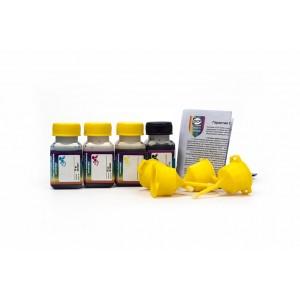 OCP BK 35, C, M, Y 149 (SAFE SET) 4 штуки по 25 грамм - чернила (краска) для картриджей HP: 650, 651, 662, 678