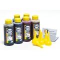 OCP BKP, C, M, Y 9142, ВК 9154, ВК 9155 100гр. 6 штук - чернила (краска) для картриджей HP: 72