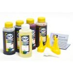 OCP BKP 249, C, M, Y 143 100гр. + RSL 5 штук - чернила (краска) для картриджей HP: 178, 920, 901