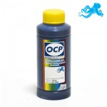 Чернила OCP C 163 Cyan (Голубой) для картриджей HP 123 100 гр.