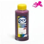 Чернила OCP M 120 для картриджей HP 11, 12, 13, 82 цвет Magenta (Пурпурный) 100 гр.