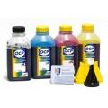 OCP BK 35, C, M, Y 143 (SAFE SET) 4 шт. по 500 грамм - чернила (краска) для картриджей HP: 178, 920