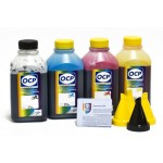 OCP BK 35, C, M, Y 343 (SAFE SET) 4 шт. по 500 грамм - чернила (краска) для картриджей HP: 655