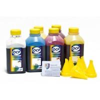 OCP BKP, C, M, Y 9142, ВК 9154, ВК 9155 6 шт. по 500 грамм - чернила (краска) для картриджей HP: 72