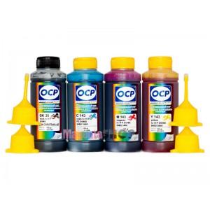 OCP BK 35, C, M, Y 143 (SAFE SET) 100гр. 4 штуки - чернила (краска) для картриджей HP: 178, 920
