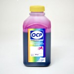 Экономичные чернила OCP M 126 для картриджей HP 18, 88 цвет Magenta (Пурпурный) 500 гр.