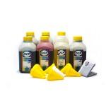 OCP BK 90, C, M, Y 93, ML, CL 94 + RSL 7 шт. по 500 грамм - чернила (краска) для картриджей HP: 177
