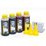 OCP BKP 249, C, M, Y 149 100гр. 4 штуки - чернила (краска) для картриджей HP: 650, 651, 662, 678