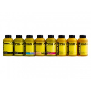 Чернила (краска) Ink-mate для принтеров Epson Stylus Photo: R800, R1800 - 100 гр. 8 штук.