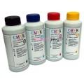 Чернила (краска) CMYK для принтеров Epson: L1110, L3100, L3111, L3101, L3110, L3150, L3156, L3160, L3050, L3060, L3070, L5190 - 100гр. 4 штуки.