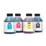 Чернила (краска) Блок Блэк для принтеров Epson: L3100, L3101, L3110, L3150, L3050, L3060, L3070 - 500 гр. 4 штуки.
