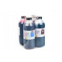 Чернила (краска) Блок Блэк для принтеров Epson: L1110, L3100, L3111, L3101, L3110, L3150, L3156, L3160, L3050, L3060, L3070, L5190 - 1000 гр. 4 штуки.