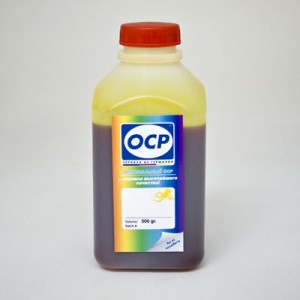 Чернила OCP Y 122 для Canon CLI-8y yellow 500 гр.
