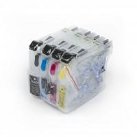 ПЗК MFC-J2510 – перезаправляемые картриджи (с чипами) для Brother: MFC-J2510, MFC-J2310, MFC-J3720, MFC-J3520