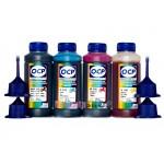 Чернила OCP BK, C, M, Y 155 4 шт. по 100 гр. для принтеров Epson InkJet Photo L100, L110, L120, L132, L200, L210, L222, L300, L312, L350, L355, L362, L366, L456, L550, L555, L566, L655, L1300