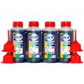 Чернила OCP BKP 230, C, M, Y 167 4 шт. по 100 гр. для принтеров Canon PIXMA G1400, G2400, G3400, G4400, G1410, G2410, G3410, G4410, G4411, G3411, G2411, G1411