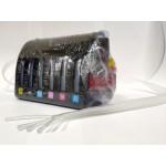 Ёмкости-доноры для СНПЧ с шлейфом, пробками и держателями 6 цветов по 70 мл