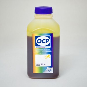 Экономичные чернила OCP YP 116 цвет Жёлтый для восьмицветных UltraChrome-принтеров Epson Stylus Photo 500 гр.