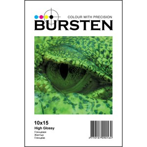 Фотобумага BURSTEN глянцевая формата 4R 180 г/м? (50 листов)