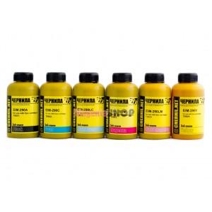 Чернила (краска) Ink-mate для принтеров Epson InkJet Photo: L800, L1800 - 100 гр. 6 штук.