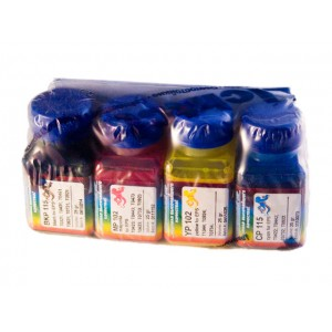 OCP BKP, CP 115, MP, YP 102 (для Epson DuraBrite принтеров) 4 штуки по 25 грамм - чернила (краска) для принтеров Epson: Stylus, WorkForce, WorkForce Pro